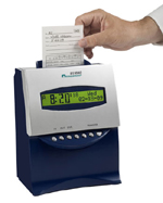 Acroprint ES1000 self totaling time clock