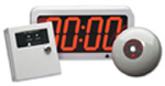 Pyramid PTR 7000 Time Clock. Pyramid PTR7000 master clock.