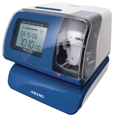 Amano PIX  200 punch clock