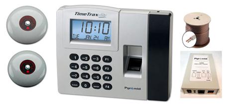 Employee Time Clocks Biometric Clock With Signal Timer
