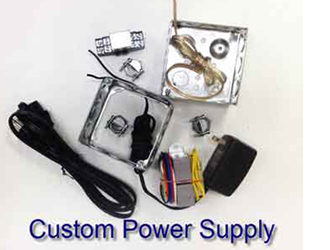 Time clock power supply