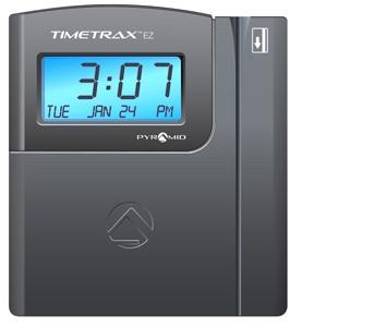 Employee Time Clocks Pyramid Timetraxez Timetrax Ez