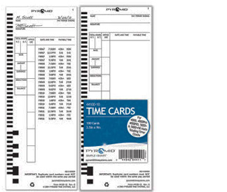 44100-10 time cards
