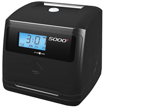 Pyramid 5000 time clock on sale