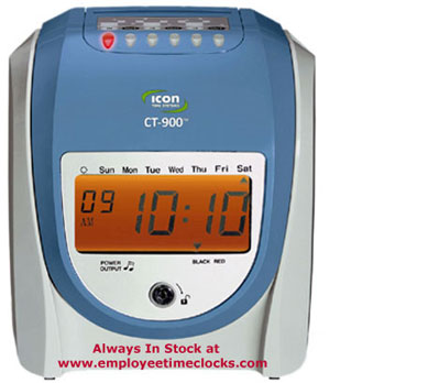 Employee Time Clocks Icon Ct 900 Ct900