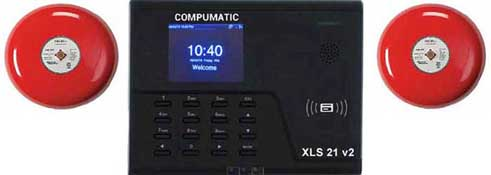 Employee Time Clocks - XLS21 with Bells Kit WiFi Time Clock